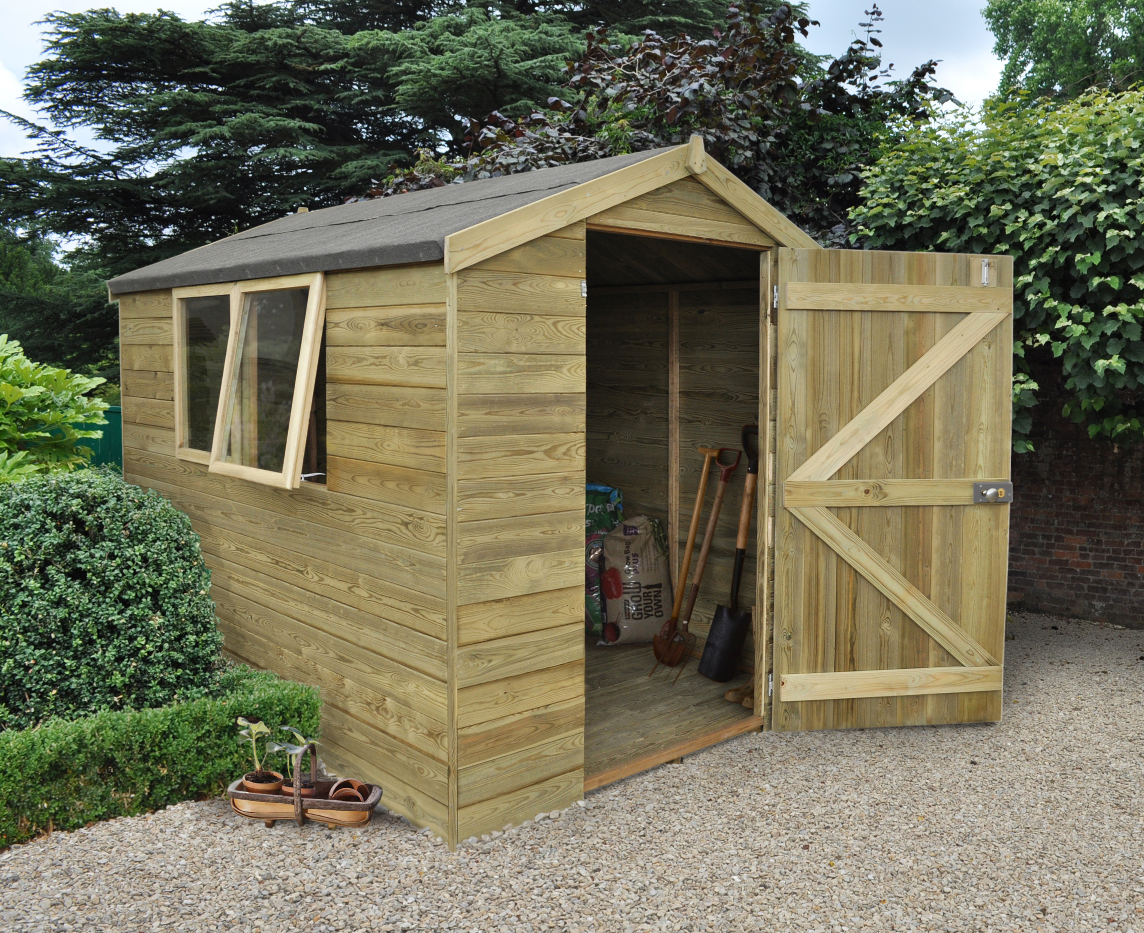 TPA68HD - 8x6 Apex Shed RRP from £639.99