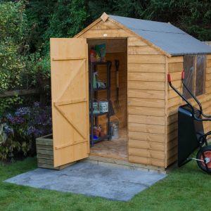 Dip Treated Overlap Sheds