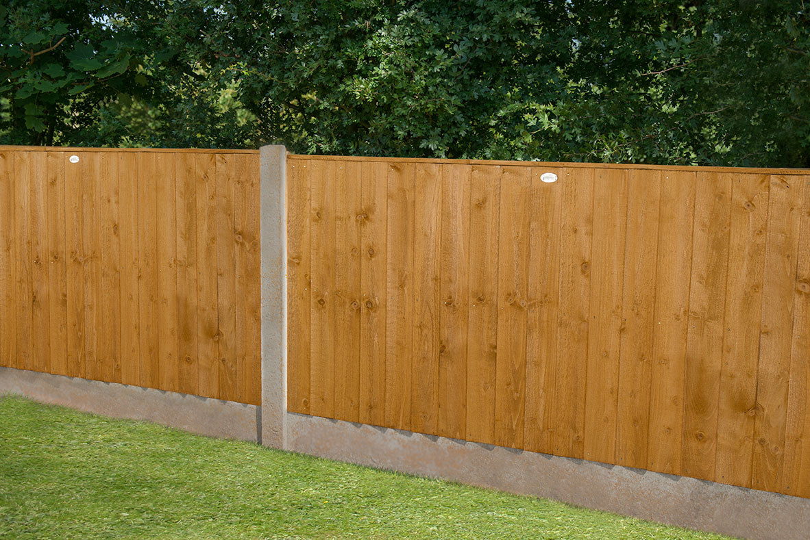 6ft X 4ft 1 83m X 1 23m Featheredge Fence Panel Forest