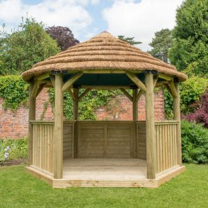 Preparing your Garden: Round Timber Gazebos, Greenhouses & Forest Retreat Sheds