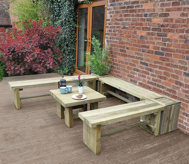 Groovy Low Level Sleeper Table 0 7M Forest Garden Uwap Interior Chair Design Uwaporg