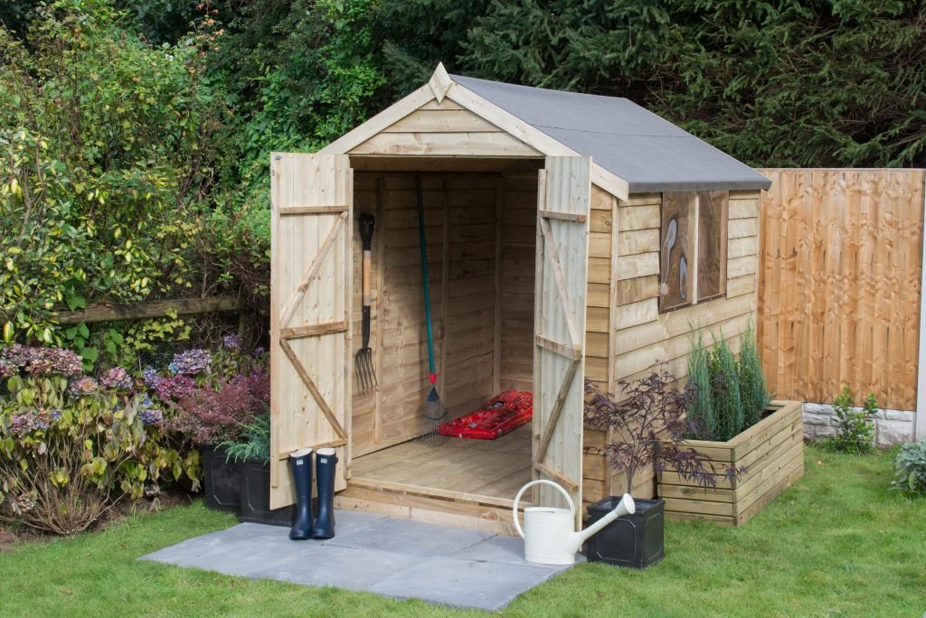 Preparing Your Garden For A New Shed Forest Garden