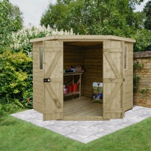 Premium Pressure Treated Tongue & Groove Sheds