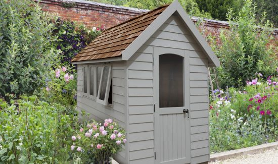 Grey Forest Garden Shed