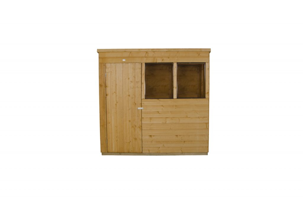 Shiplap Dip Treated 7x5 Pent Shed Forest Garden