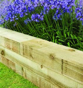 Sleepers, Log Roll & Border Edging