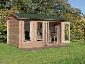 Preparing your Garden: Log Cabins