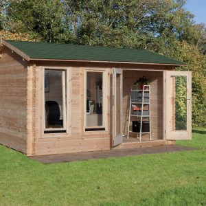 Preparing your Garden: Log Cabins