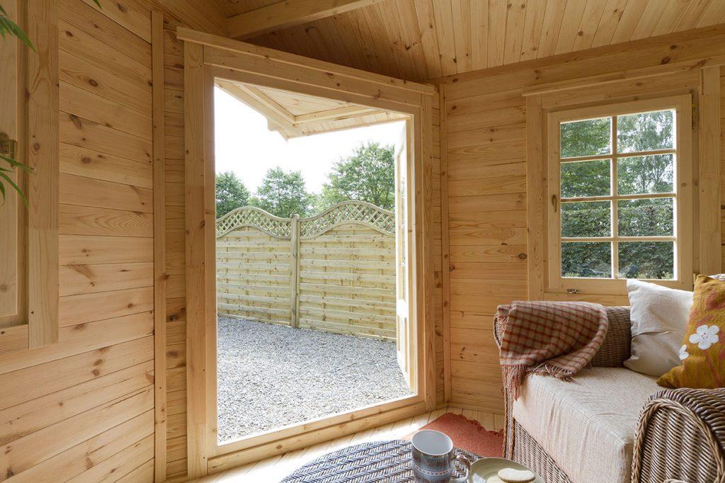 Ripon Log Cabin 4m X 2 8m Forest Garden