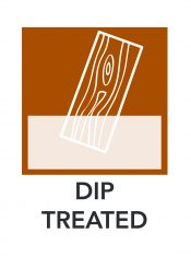 Dip Treated Diagram Icon