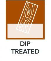 Dip Treated Diagram Icon