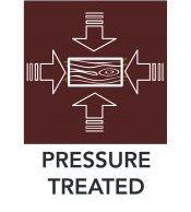 Pressure Treated Diagram Icon
