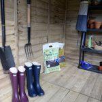 Inside Of Forest Garden Shed