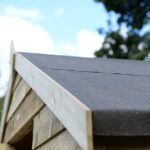 Shed Roof Close Up