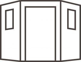 Corner Shed Diagram