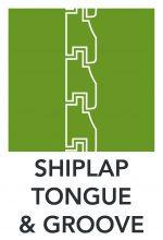 Shiplap Tongue Diagram
