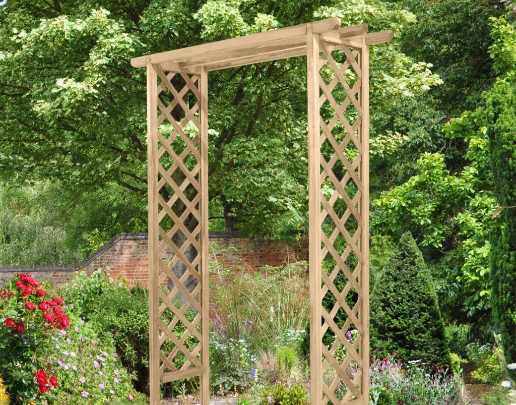 Trellis Arch Forest Garden