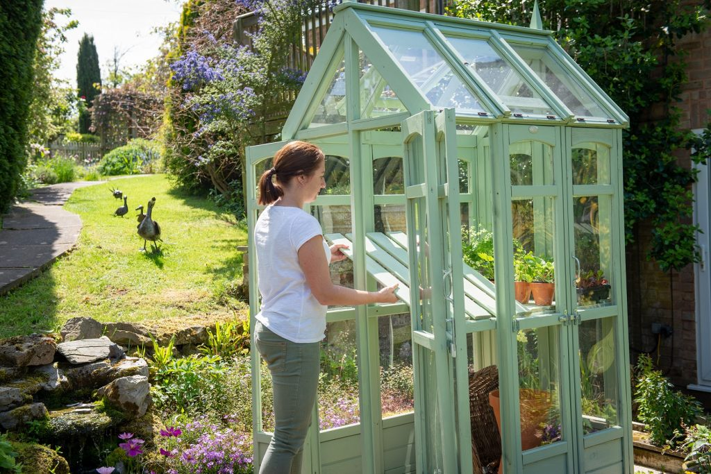 Victorian Walkaround Greenhouse | Forest Garden