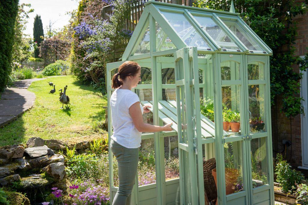 Victorian Walkaround Greenhouse | Forest Garden