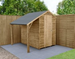 Lean to Shed Kit. 6x4 Pressure Treated