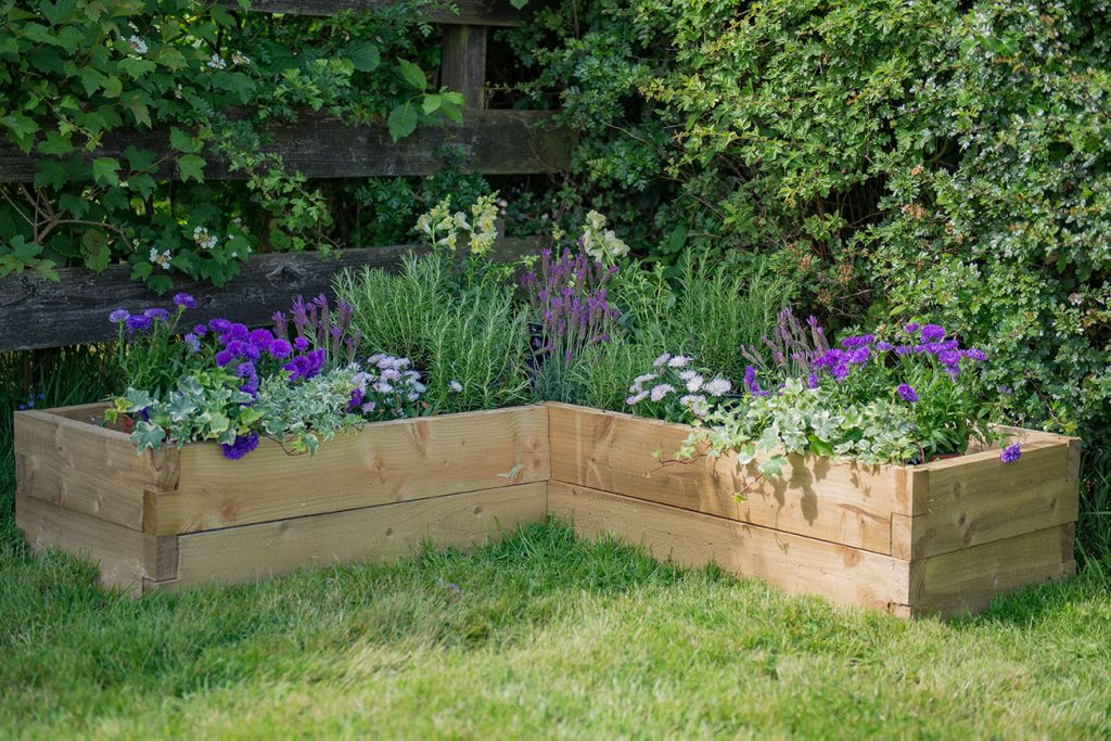 Caledonian Corner Raised Bed Forest Garden