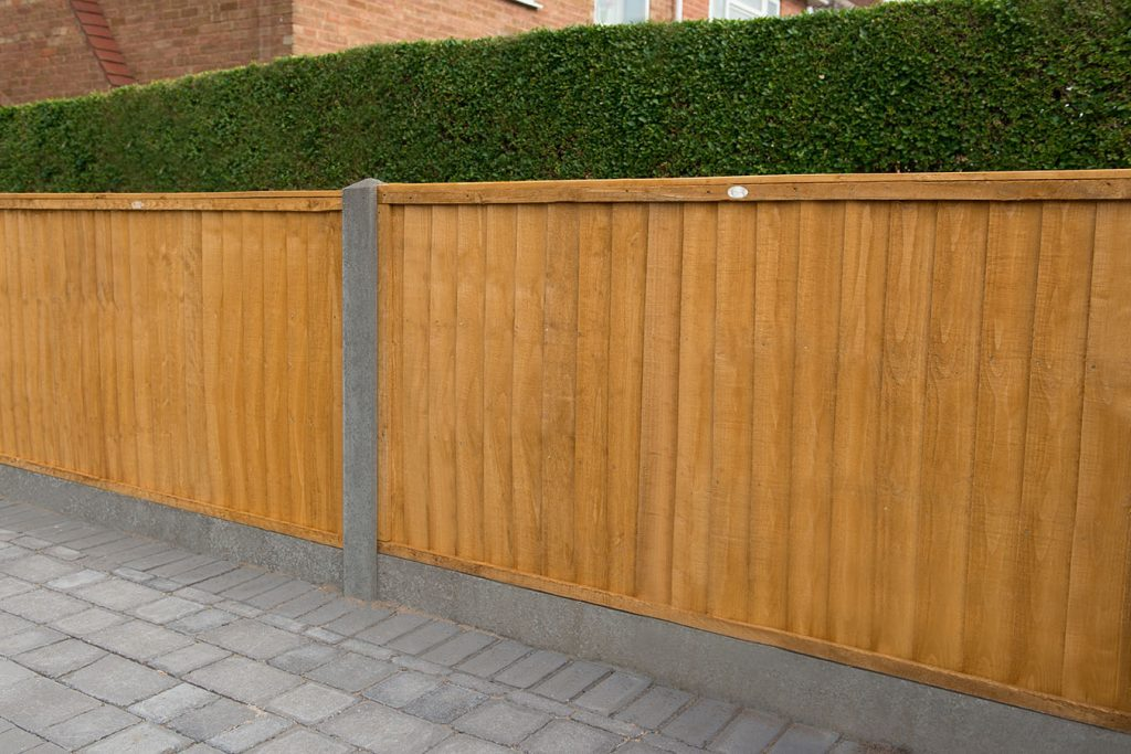 6ft X 4ft 1 83m X 1 22m Closeboard Fence Panel Forest Garden