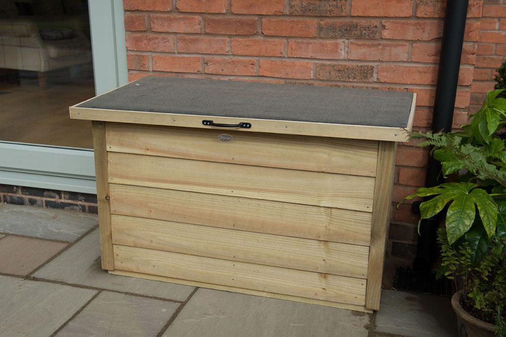 Garden Storage Box Pressure Treated, Wooden Garden Storage Box Uk