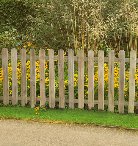 Strong Wooden Picket Fence Garden Panels 6ftx3ft Planed Smooth X 1 PANEL