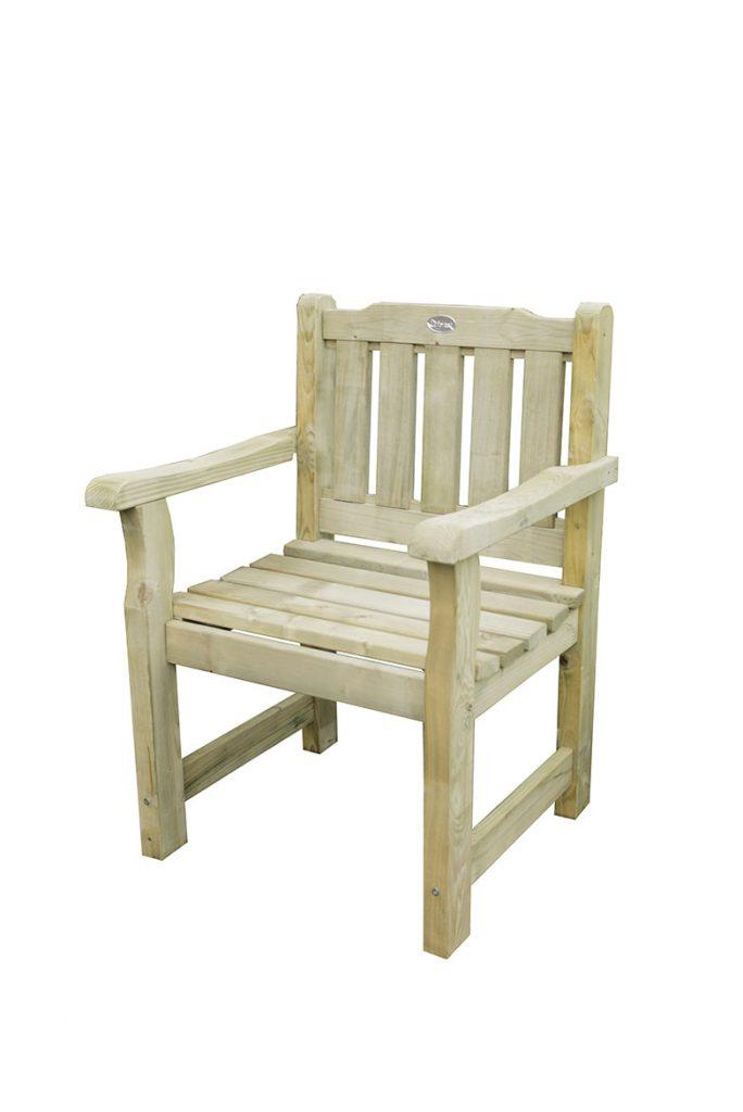 Forest 5ft Rosedene Wooden Garden Bench Pressure Treated Timber Furniture