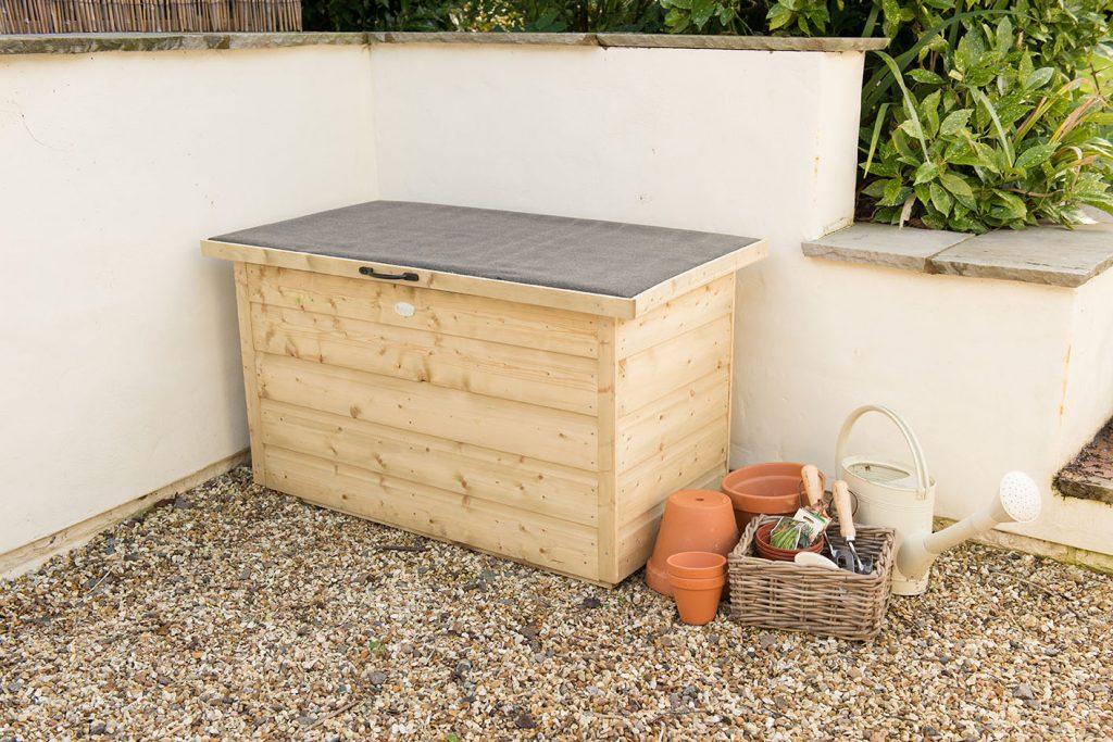 Shiplap Garden Storage Box Pressure, Wooden Garden Storage Box Uk