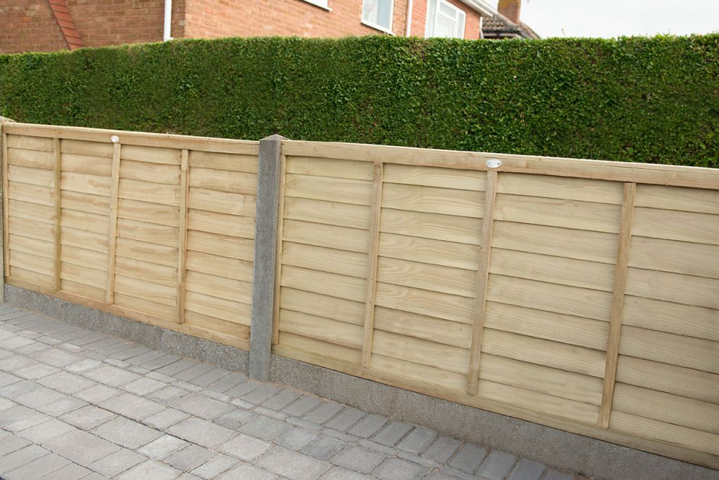 6ft X 4ft 1 83m X 1 22m Pressure Treated Superlap Fence Panel Forest Garden