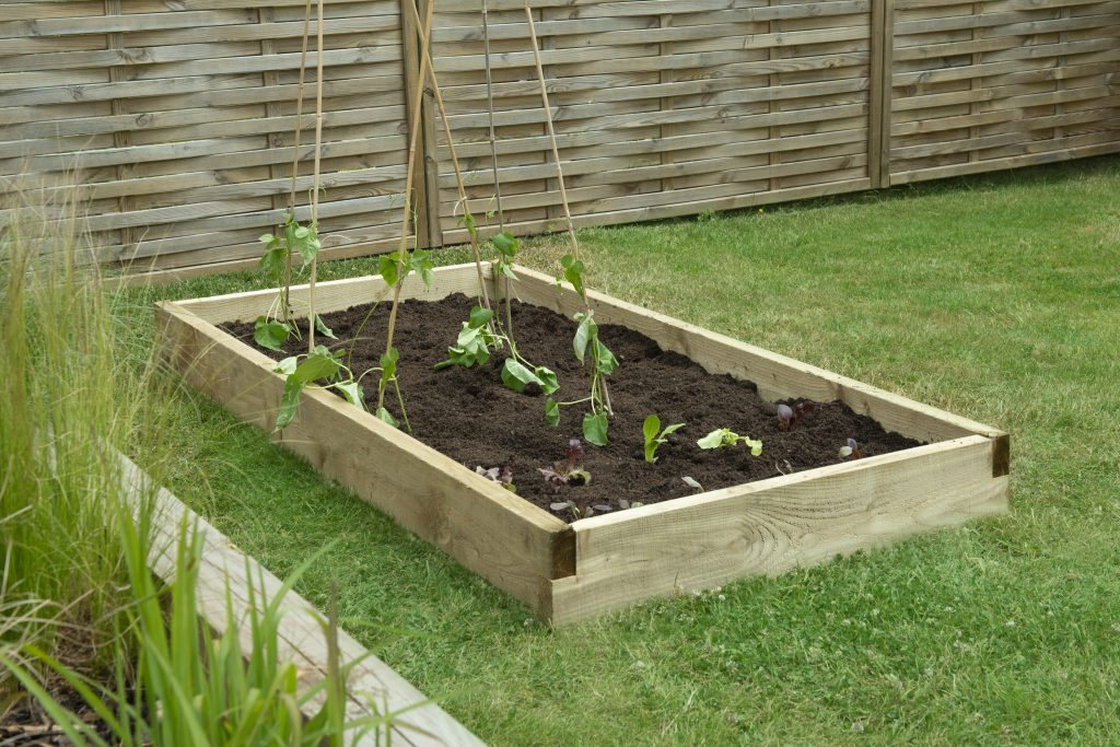 Forest Garden Caledonian Large Raised Bed.